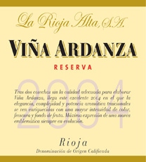 Viña Ardanza2004