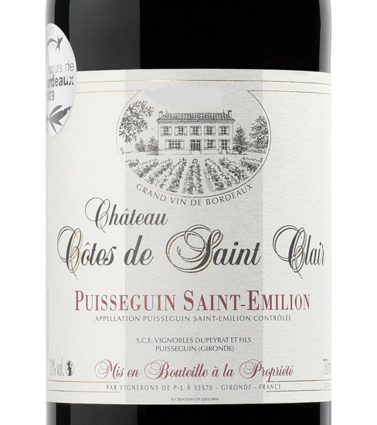 Chateau-Cotes-De-Saint-Clair-Label