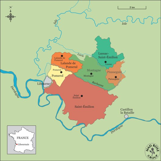 Bordeaux-LibournaisMap