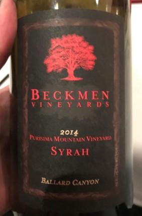 Beckmen-Syrah2014
